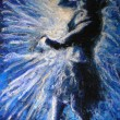 The dancer within is your gateway to surrender, Private collection, Lisa Corston-Buddle