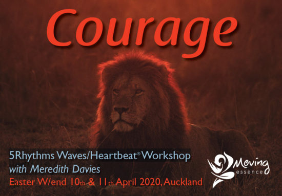 Courage with Meredith Davies
